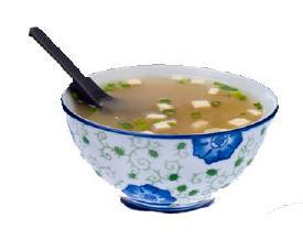 Foto Vegetarische Miso Soep